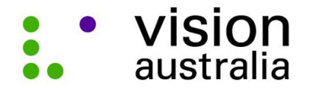 Vision Australia Shoot